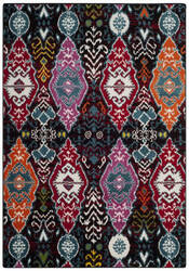 Safavieh Cherokee Chr913c Black - Red Area Rug