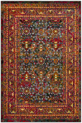 Safavieh Cherokee Chr918z Black - Red Area Rug