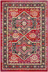 Safavieh Cherokee Chr920q Red - Blue Area Rug
