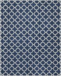 Safavieh Chatham Cht717c Dark Blue / Ivory Area Rug