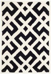Safavieh Chatham Cht719k Black / Ivory Area Rug