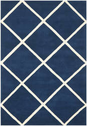Safavieh Chatham Cht720c Dark Blue / Ivory Area Rug
