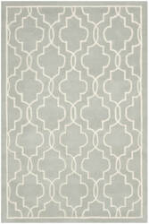 Safavieh Chatham Cht723e Grey / Ivory Area Rug