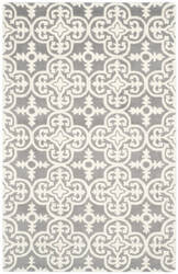 Safavieh Chatham Cht729d Dark Grey / Ivory Area Rug