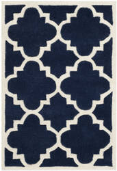 Safavieh Chatham Cht730c Dark Blue / Ivory Area Rug