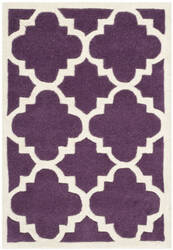 Safavieh Chatham Cht730f Purple / Ivory Area Rug