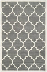 Safavieh Chatham Cht733d Dark Grey / Ivory Area Rug