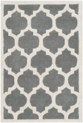 Safavieh Chatham Cht734d Dark Grey / Ivory Area Rug