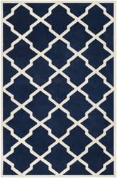 Safavieh Chatham CHT735C Dark Blue / Ivory Area Rug