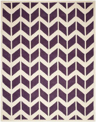 Safavieh Chatham Cht746f Purple / Ivory Area Rug