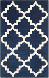 Safavieh Chatham Cht753c Dark Blue - Ivory Area Rug