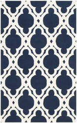 Safavieh Chatham Cht762c Dark Blue - Ivory Area Rug