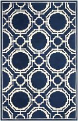 Safavieh Chatham Cht767c Dark Blue - Ivory Area Rug
