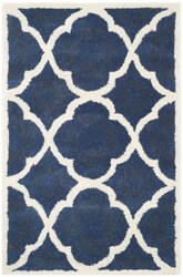 Safavieh Chatham Cht821a Blue / Ivory Area Rug