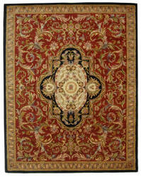 Safavieh Classic CL220C Red / Black Area Rug