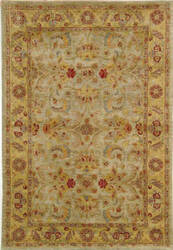 Safavieh Classic CL324A Light Green / Gold Area Rug