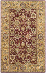 Safavieh Classic CL758C Red / Gold Area Rug