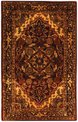 Safavieh Classic CL763B Red / Navy Area Rug