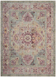 Safavieh Claremont Clr664d Grape - Blue Area Rug