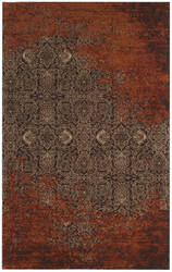 Safavieh Classic Vintage Clv224a Rust - Brown Area Rug