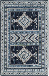 Safavieh Classic Vintage Clv511a Navy - Light Blue Area Rug