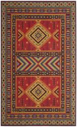 Safavieh Classic Vintage Clv511g Red - Slate Area Rug
