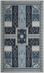 Safavieh Classic Vintage Clv512a Navy - Light Blue Area Rug