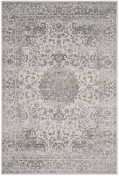 Safavieh Carnegie Cng631k Cream - Dark Grey Area Rug