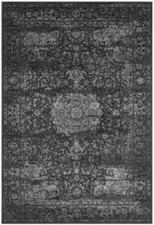 Safavieh Carnegie Cng631p Dark Grey - Cream Area Rug