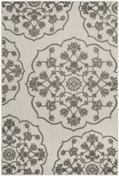 Safavieh Cottage Cot912c Cream - Grey Area Rug