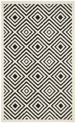 Safavieh Cottage Cot913e Cream - Anthracite Area Rug
