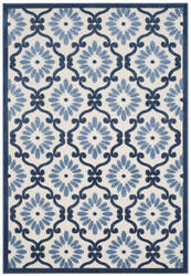 Safavieh Cottage Cot922b Ivory - Blue Area Rug