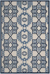 Safavieh Cottage Cot923b Ivory - Blue Area Rug