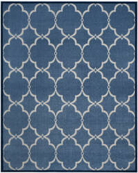 Safavieh Cottage Cot926k Blue - Creme Area Rug