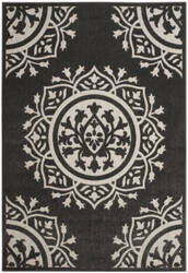 Safavieh Cottage Cot930h Charcoal - Cream Area Rug
