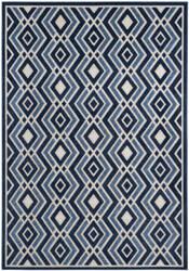 Safavieh Cottage Cot934k Ivory - Blue Area Rug