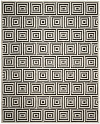Safavieh Cottage Cot941e Black - Creme Area Rug