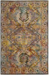 Safavieh Crystal Crs516a Light Blue - Orange Area Rug