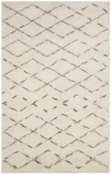 Safavieh Casablanca Shag Csb847b Ivory - Grey Area Rug
