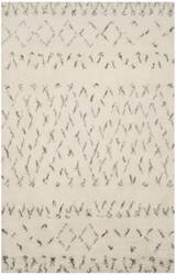Safavieh Casablanca Shag Csb851b Ivory - Grey Area Rug