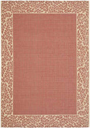 Safavieh Courtyard Cy0727-3707 Red / Natural Area Rug