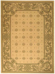 Safavieh Courtyard Cy1356-1e01 Natural / Olive Area Rug