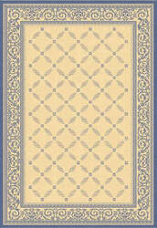 Safavieh Courtyard Cy1502 Natural - Blue Area Rug