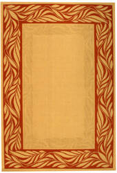 Safavieh Courtyard Cy1551-3201 Natural / Terracotta Area Rug