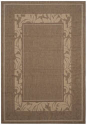 Safavieh Courtyard Cy1704 Brown - Natural Area Rug