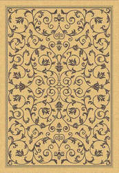 Safavieh Courtyard Cy2098-3001 Natural / Brown Area Rug