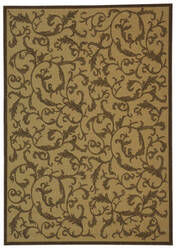 Safavieh Courtyard Cy2653-3001 Natural / Brown Area Rug