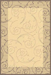 Safavieh Courtyard Cy2665-3001 Natural / Brown Area Rug