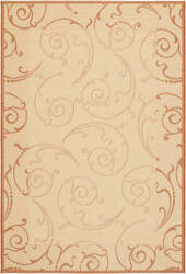 Safavieh Courtyard Cy2665-3201 Natural / Terracotta Area Rug