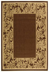 Safavieh Courtyard Cy2666-3009 Brown / Natural Area Rug